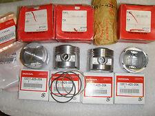 Honda 750 Pistons, Rings, Pins & Clips CB750K CB750F CB750SC STD 13101-425-000