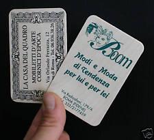 100 BIGLIETTI DA VISITA DI LEGNO - wood business cards