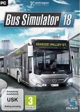 PC Computer Spiel Bus-Simulator 18 Bus 2018 Driver Car Simulation NEU NEW 55