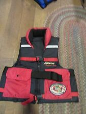 STEARNS COMPETITOR SERIES BLACK/RED TYPE III PFD ADULT X-LARGE SPORT LIFE VEST