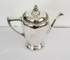 Poole Siver Company Teapot 2663