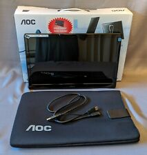 AOC E1659FWU 15.6 in (1366 x 768) 8 ms, 60 Hz, USB 3.0 Portable LED Monitor