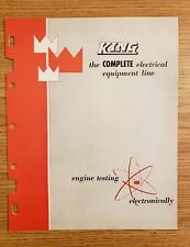 1959 King Electrical Equipment Line Engine Testing Brochure