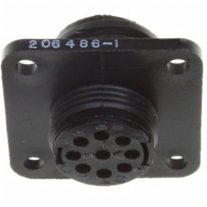 AMP TE CONNECTIVITY 206486-1 Circular Connector 9 Position Series 2 Shell 11-9