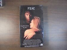 """USED VHS Movies Horror """"FEAR """"    (G)"""