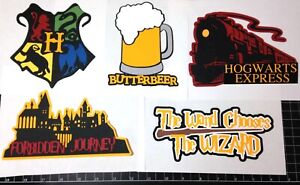 Harry Potter WIZARDING WORLD Die cut set! Project Life, Paper, die cuts,