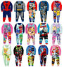 Boys Girls Kids Official Character Paw Patrol Fleece Long Sleeve Pyjamas