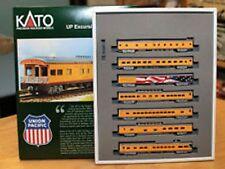 KATO 106086 N Scale Union Pacific Excursion Train 7-Car Passenger Set 106-086
