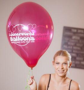 "3 x große TUFTEX 17"" Luftballons LOONERWORLD-LOGO *BALLOONS* *LOONER*"