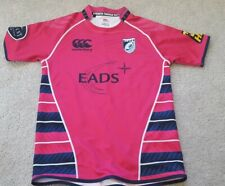 Shirt Canterbury Rugby Jersey Cardiff Blues Away 2010/2011 Football Player Issue