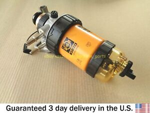 JCB BACKHOE - FUEL FILTER ASSEMBLY WITH SENSOR - 30 MICRON (PART NO. 32/925717)
