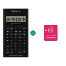 TI BA II Plus Professional Taschenrechner + erweiterter Garantie
