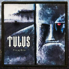 Tulus - Olm Og Bitter | Printed Patch | Black Metal
