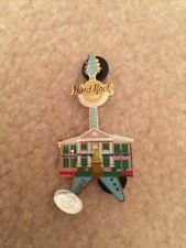 Authentic Hard Rock Cafe 2005 Nassau Bahamas Government House Guitar Pin