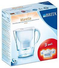 Jarra Purificadora de Agua Brita Marella 2,4 l + 3 Filtros Purificador Indicador