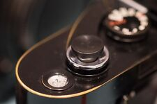 Ebony wood Soft Release Button for Fujifilm and Leica (Large concav)