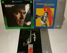 3 Dirty Harry Movies on Laserdisc
