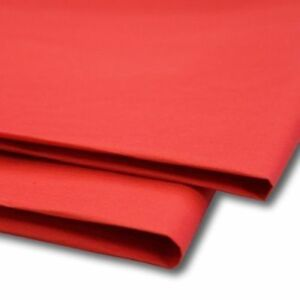 """RED ACID FREE TISSUE WRAPPING PAPER SIZE 450 X 700MM 18 X 28"""""""