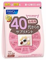 FANCL Good Choice 40's Women Health Supplement all-in-one 30 bags JAPAN