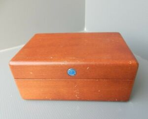 EBERHARD & Co. - Estuche Box Case Scatola - For vintage watches - Legno Wood