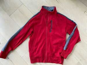 Lululemon Workout Athletic Full Zip Jacket in Red Size XL