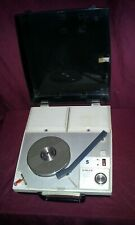 New listing Vintage Singer He-2202 Stereo Phonograph Record Player Works Perfectly Battery