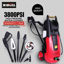 X-BULL High Pressure Water Cleaner 3800 PSI Washer Electric Pump Hose Gurney