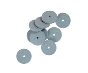 10x 20mm Green Abrasive Disc For Rotary Tool Grinder Mini Drill Grinding Wheel