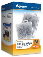 AQUEON FILTER CARTRIDGE MEDIUM. FOR QUIET FLOW 10 FILTER. 12PK
