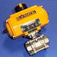 EL-O-MATIC PNEUMATIC ACTUATOR ES0025.61A04A.S11KS0 *NEW*