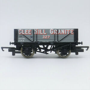 Hornby OO Gauge Clee Hill Granite 4 Plank Wagon - Great Condition