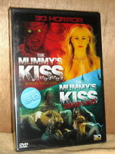 The Mummys Kiss/The Mummys Kiss 2 (DVD, 2013, 3D With 3D Glasses) NEW 2-Disc set