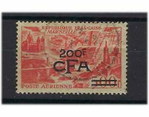 TIMBR REUNION CFA POSTE AERIENNE PA N° 50  OBLITERE