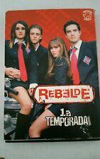 Rebelde 1a Temporada 3 DVD Set (Spanish Edition) In great condition