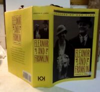 Eleanor And Franklin by Joseph P. Lash HCDJ 1971