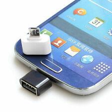 2 Pcs Micro USB Type B mini OTG adapter male to USB female 2.0 A type G8A3 C9B2