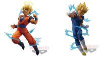 Banpresto Dragon ball Z Dokkan Battle Collab Gokou & Vegeta Figure Japan F/S