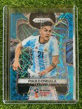 2018 Prizm World Cup Soccer PAULO DYBALA Blue Laser /125 Rookie RC Argentina
