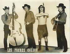 Les Frères Calson Vintage silver print Tirage argentique  18x24  Circa 196
