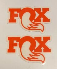 "FOX SHOX RACING STICKERS DECALS 2.25X3.25"" FREE SHIPPING offroad utv diesel bike"