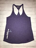 Under Armour Womens Small Semi-Fitted Heat Gear Army Theme Tank Top .