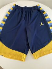 Extra Large Marquette Golden Eagles Authentic Basketball Shorts - Brand Jordan
