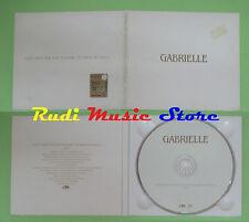 CD Singolo GABRIELLE DON'T NEED SUN TO SHINE PROMO 2001 DIGIPACK (S16) no mc lp