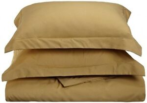 QUEEN DUVET COVER AND SHAMS 1500 COUNT SERIES -  12 Beautiful Colors Available.