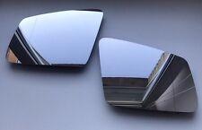 Pair MERCEDES GL450 GL550 X166 2012-2015 Heated Door Mirror Glass Backing Plate