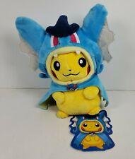 Pokemon Center Hiroshima Pikachu Blue Gyarados Costume Poke Plush 2015