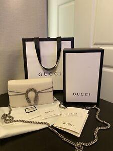 Gucci Dionysus super mini leather bag Authentic