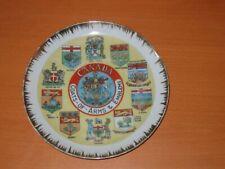 Muurbord Canada Coats Of Arms & Emblems  Wall Plate Signe de Mur Wandschild プレート