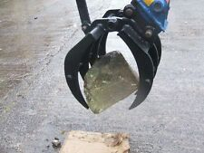 Manual Mechanical Grapple / Grab for Excavator / Digger 0.9 - 2 Ton
