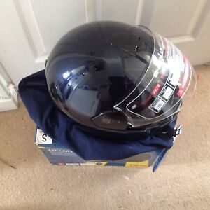 MotorCycle Integral Helmet - small - Clear visor, adjustable ventilation - NEW
